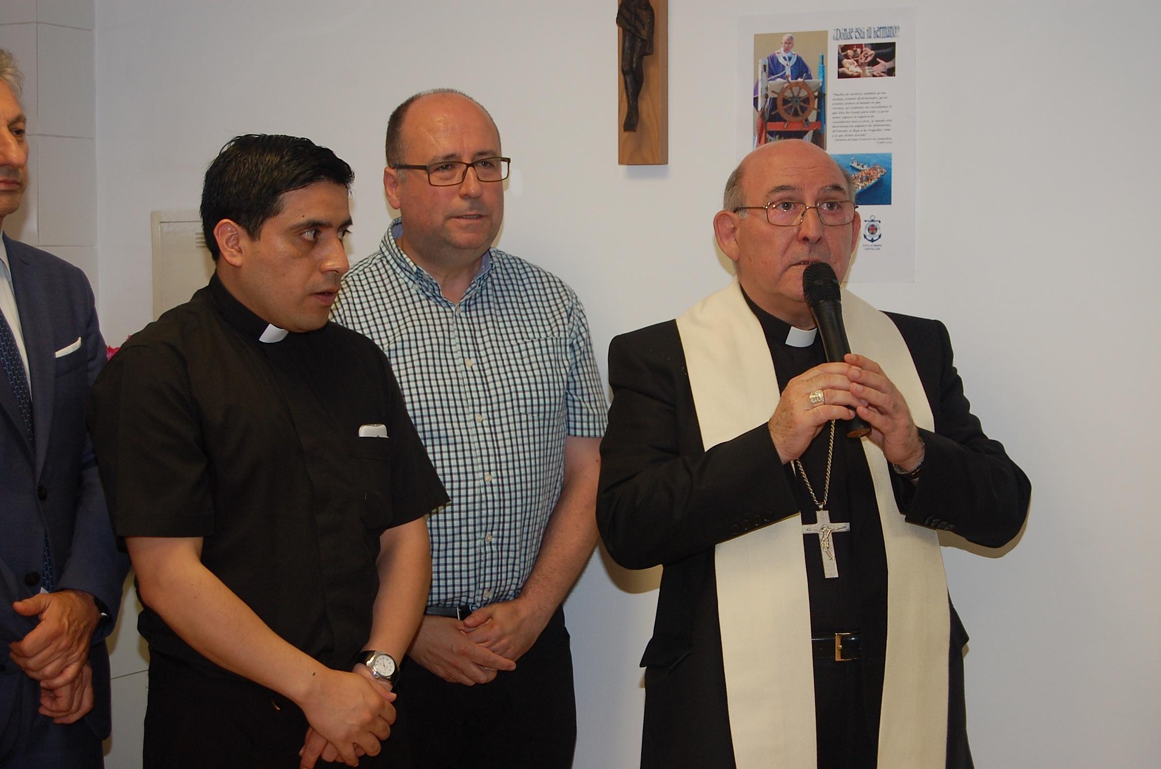 Bendición de la nueva sede a cargo del Obispo de nuestra diócesis