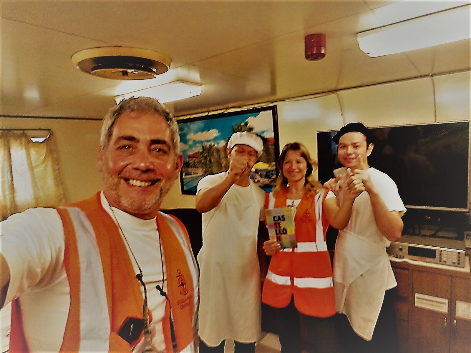 Buque MV FERGULUS 30-10-17